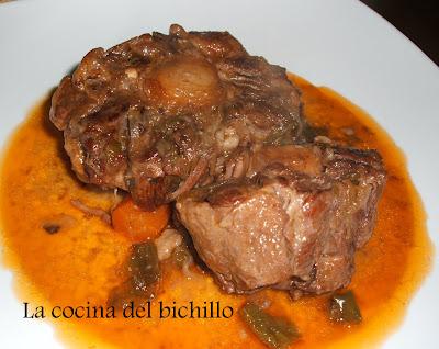 La cocina del bichillo rabo de ternera en salsa - Cocinar rabo de ternera ...