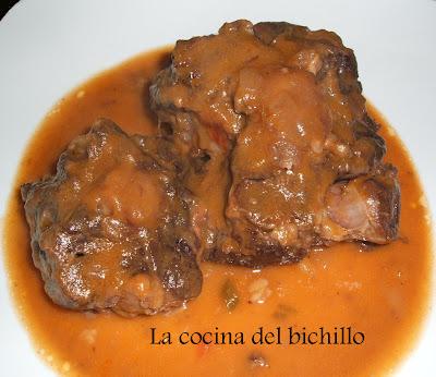 La cocina del bichillo rabo de ternera al vino - Cocinar rabo de ternera ...