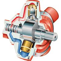 Motor neumático de Pistones Radiales