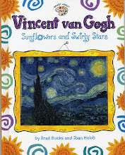 Vincent van Gogh, Sunflowers and Swirly Stars
