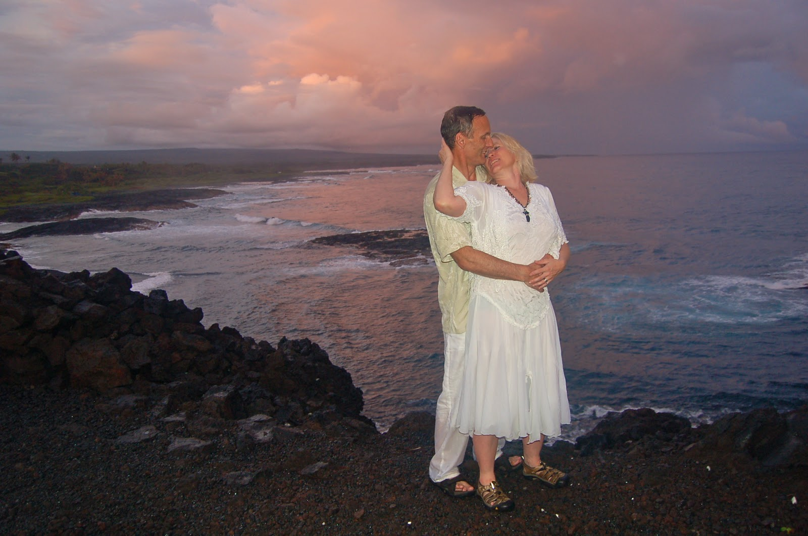 The Sacred Heiau At Secluded Beach Had Intrigued Them So Near Sunset Next Day We A Photo Shoot There Was Rainbow And Glorious