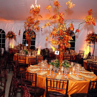Beautiful Fall Wedding Decorations