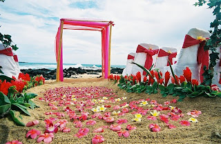 Beautiful Beach Wedding Decorations 2011