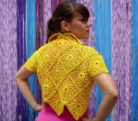 Torerita Al Crochet  Talle 38