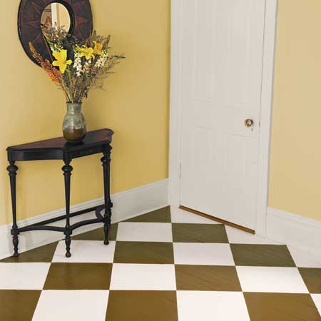 Through the french eye of design help ordinary square - Painted parquet floor pictures ...