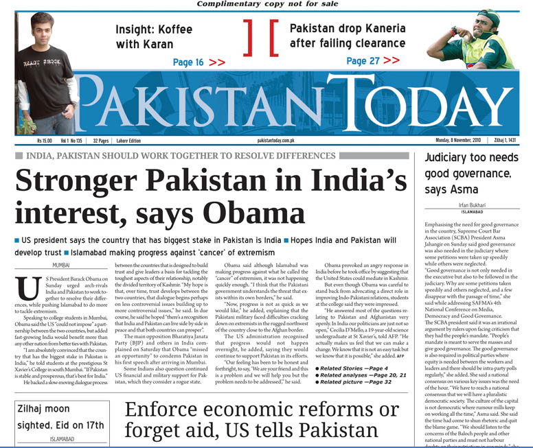 Write My Dawn News Paper Today In English Online