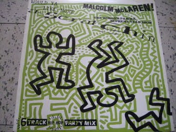 Dj Relly Rels Malcolm Mclaren Amp The World S Famous