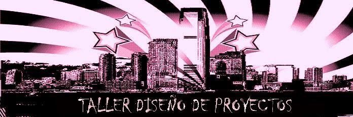 TALLER DISEÑO DE PROYECTOS