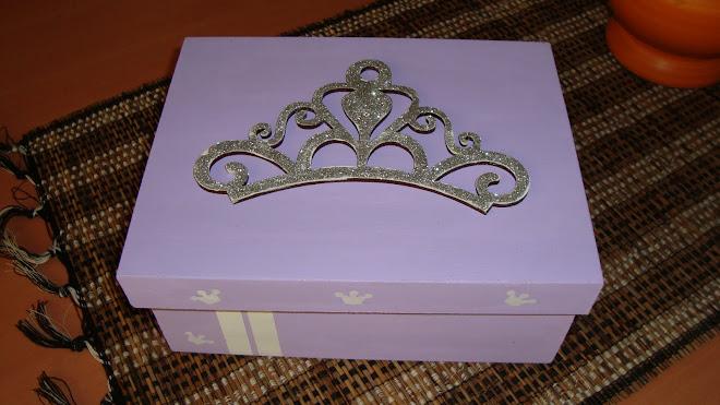 Caja Corona Princesa