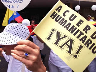 ACUERDO HUMANITARIO COMO UN PASO IMPORTANTE PARA LA PAZ EN COLOMBIA