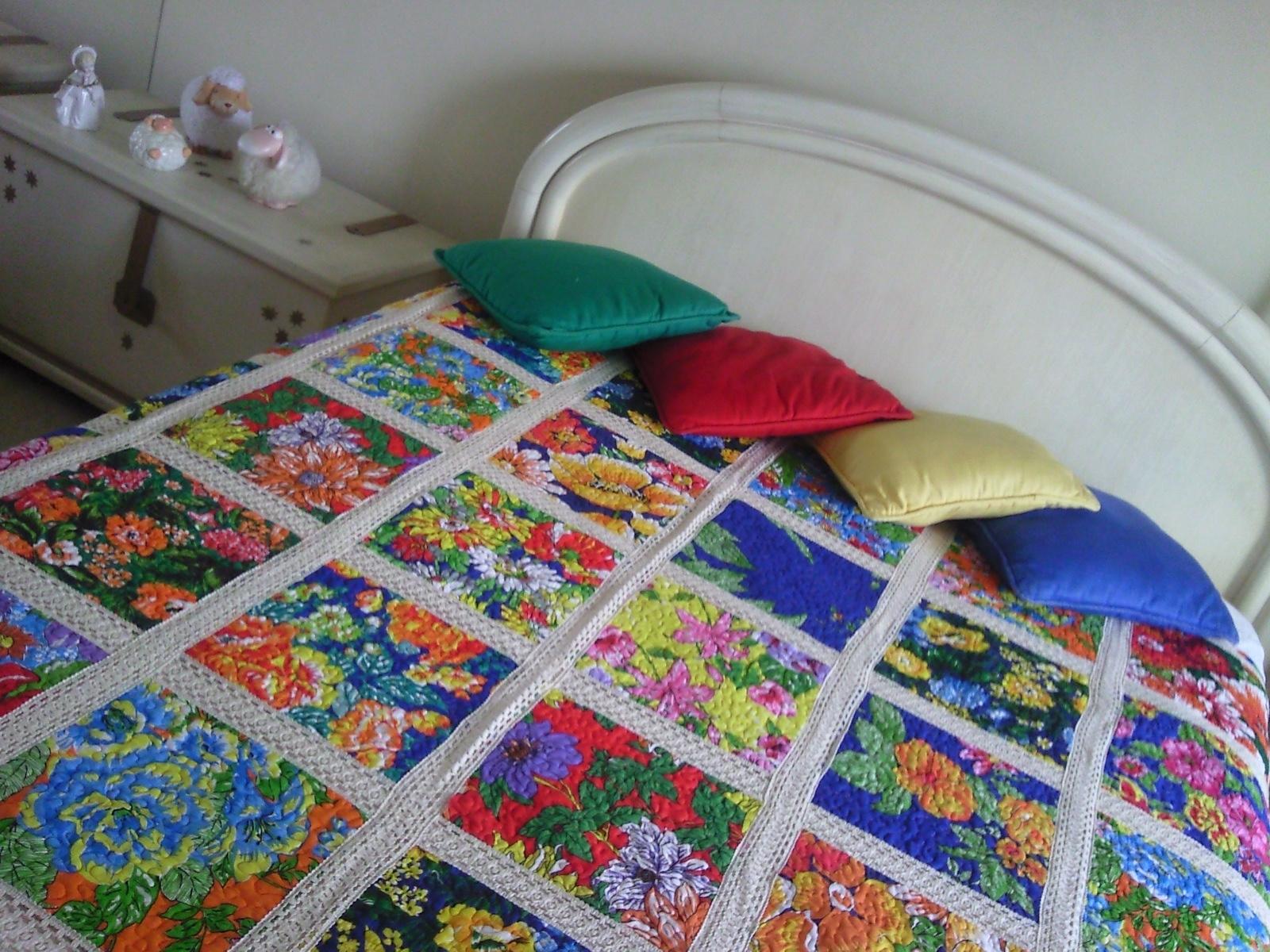Artesanato Indiano ~ BLOG COM'ART Colcha patchwork e chita