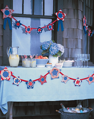 diy fourth of july decorations. DIY and decorate your table by