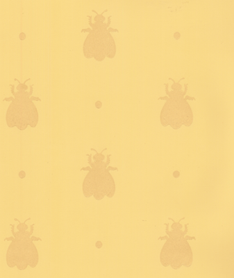 bumble bee wallpaper. Instead of paint, wallpaper is