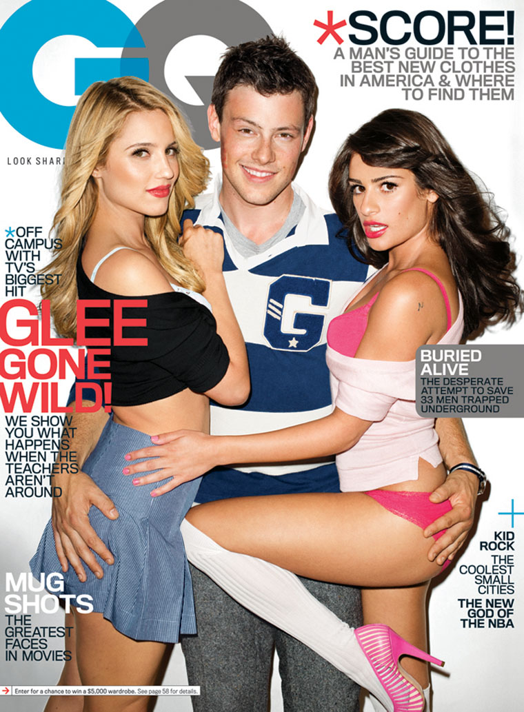 lea michele gq pics. Thanks to GQ I#39;m going to have