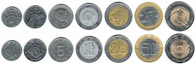 نقود الجزائرية