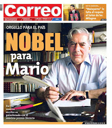 NOBEL PARA MARIO VARGAS LLOSA