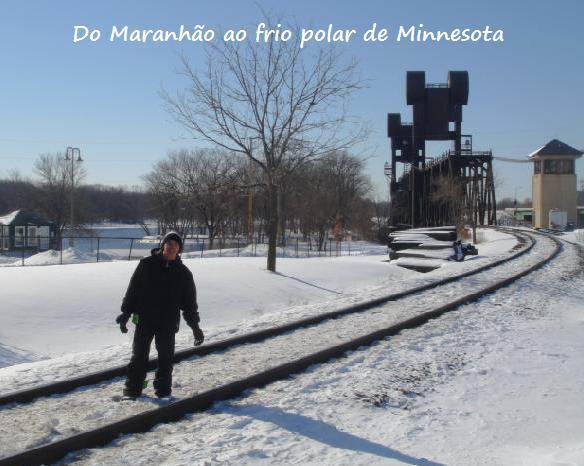 Do Maranhão ao frio polar de Minnesota