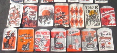 33 Vintage Halloween Paper Treat Bags Date Unknown