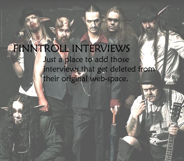 FINNTROLL   INTERVIEWS