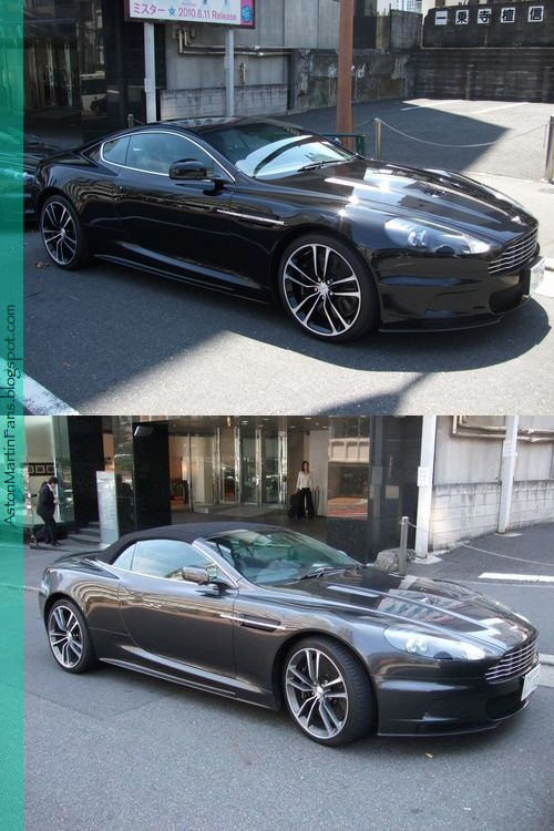 DBS Volante and DBS Carbon Black Special Edition land in Tokyo