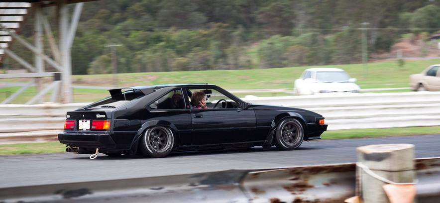 Bad Black Supra セリカxx A60