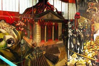El blog de la muerte el mejor mural de siqueiros da ado for El mural de siqueiros en argentina