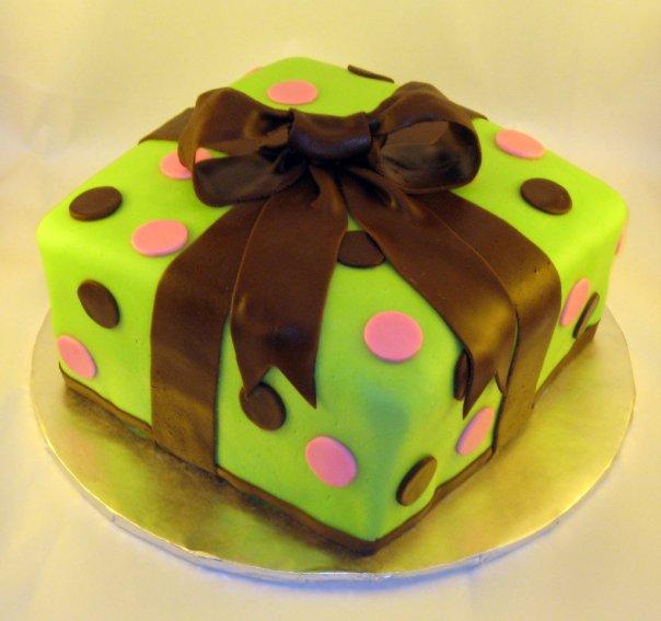 Cake Design By April Birthday Present Cake