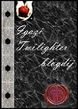"""""""Igazi Twilighter díj"""" blogger díjam, amit köszönök Nickyy-nek(L)"""