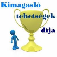 Kimagasló tehetségek díja