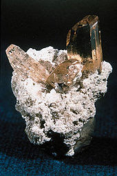 Topaz :as a mineral