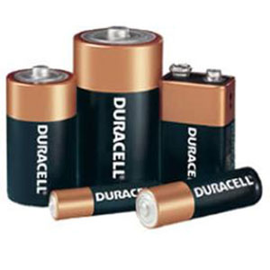 Use rechargable batteries