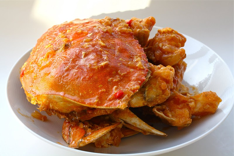 Sweet and Sour Chili Crabs