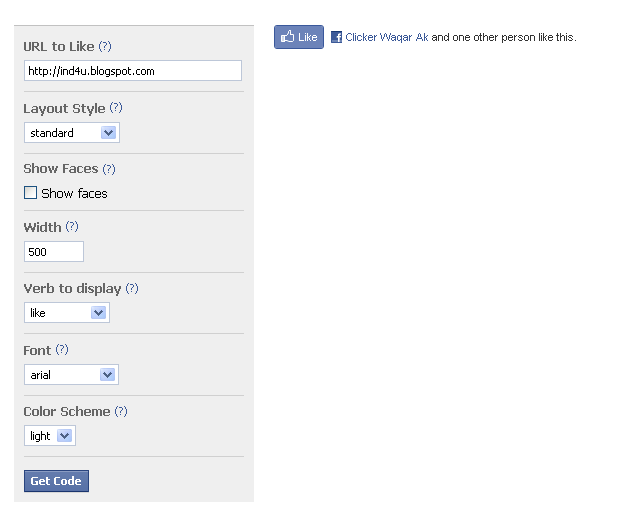 how to add facebook like button to website html