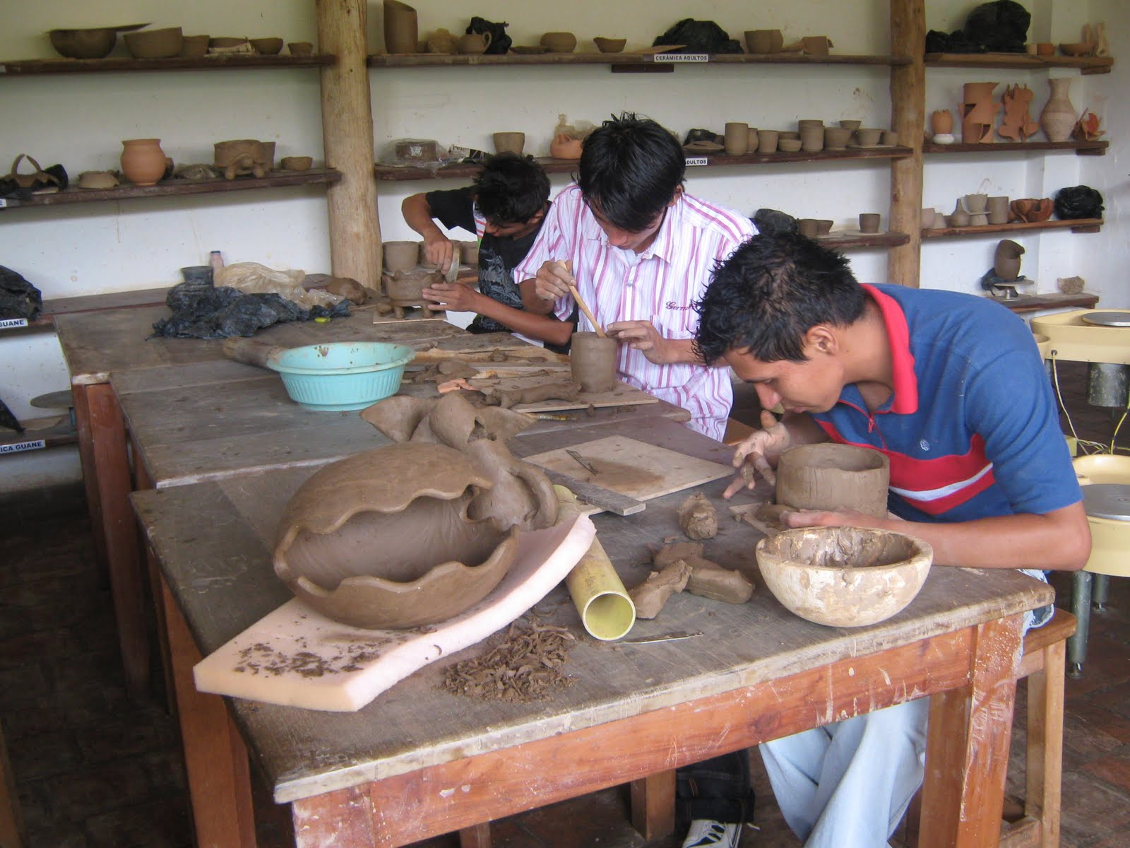 objetos artesanales ceramica elaboracion de bowls