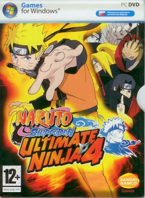 Download | Baixar - Naruto Shippuuden Ultimate Ninja 4 (PC)