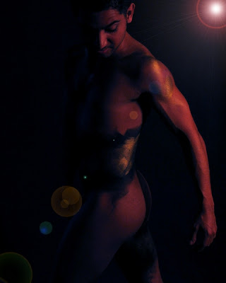 Body Painting: Figure painting as a cartoon body