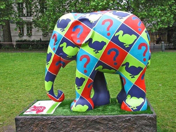 Elephant Parade London 2010 - 24 Pics | Curious, Funny Photos ...