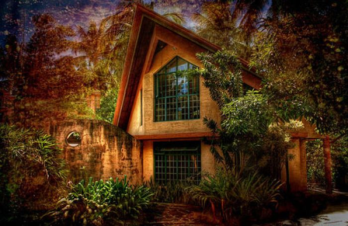 Kerala home design and floor plans 46 unusual house for Fairy tale home plans