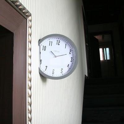 The unusual design hours Creative ClocksPart 1 Black Bull Design