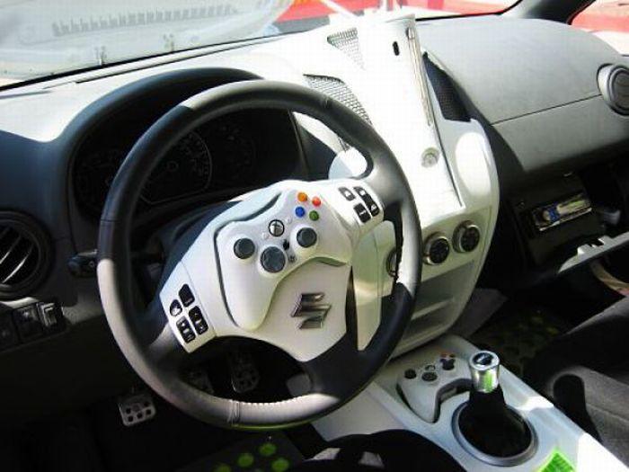 Crazy car tuning
