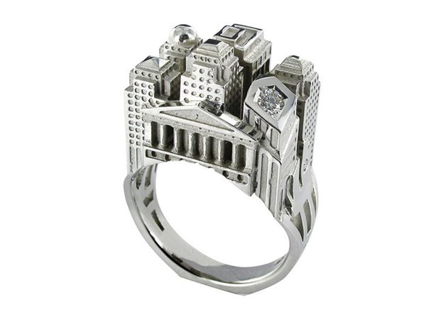 architectural ring 20 - Beautiful Architectural ring