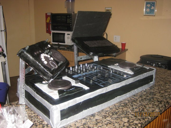 For The Love Of Chocolate And Cakes Dj Cake