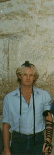 David Ben-Ariel wearing tefillin