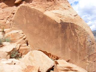 Petroglyphs at Dinosaur National Monument