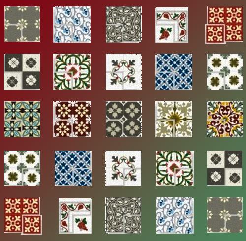 Pavimentos santa olaja for Disenos para mosaicos