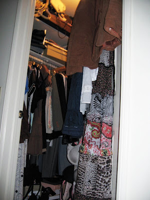 love maegan closet avoidance, clutter
