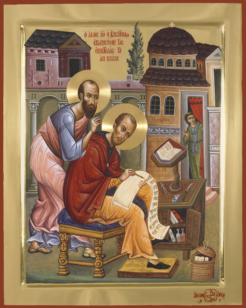 San Giovanni Crisostomo grande interprete dell'Apostolo Paolo dans IMMAGINI (DI SAN PAOLO, DEI VIAGGI, ALTRE SUL TEMA) Paul%2Band%2BJohn%2BChrysostom