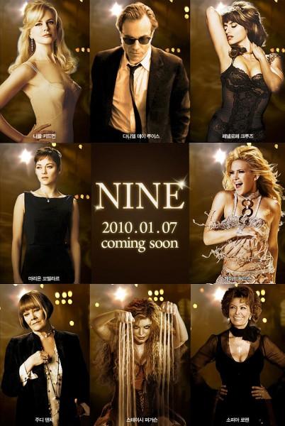 nicole kidman nine poster
