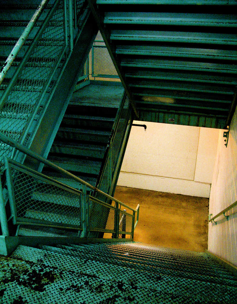 parking garage steps; click for previous post