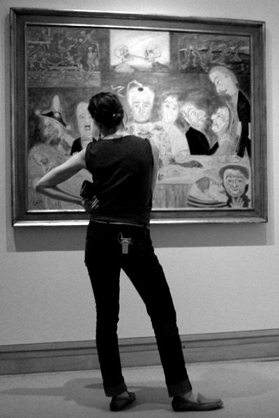 Art appreciation at the Met; click for previous post